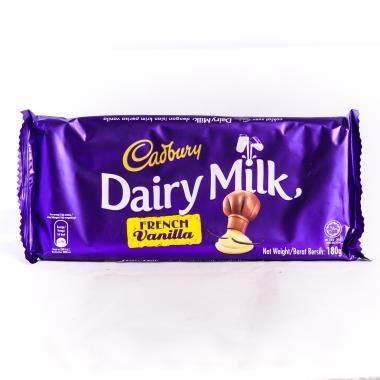 Cadbury Dairy Milk French Vanilla 180g