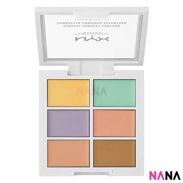 Buy NYX Professional Makeup Color Correcting Concealer Palette Singapore