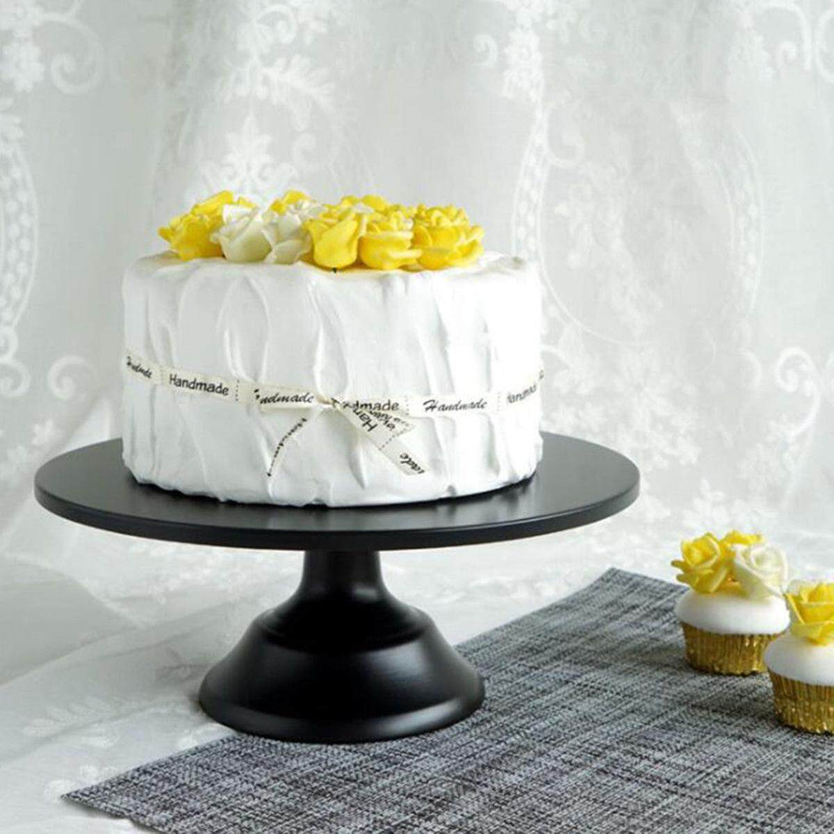 Round Cake Stand Pedestal Pink Dessert Holder Wedding Party Display 12 Inch By Moonbeam.