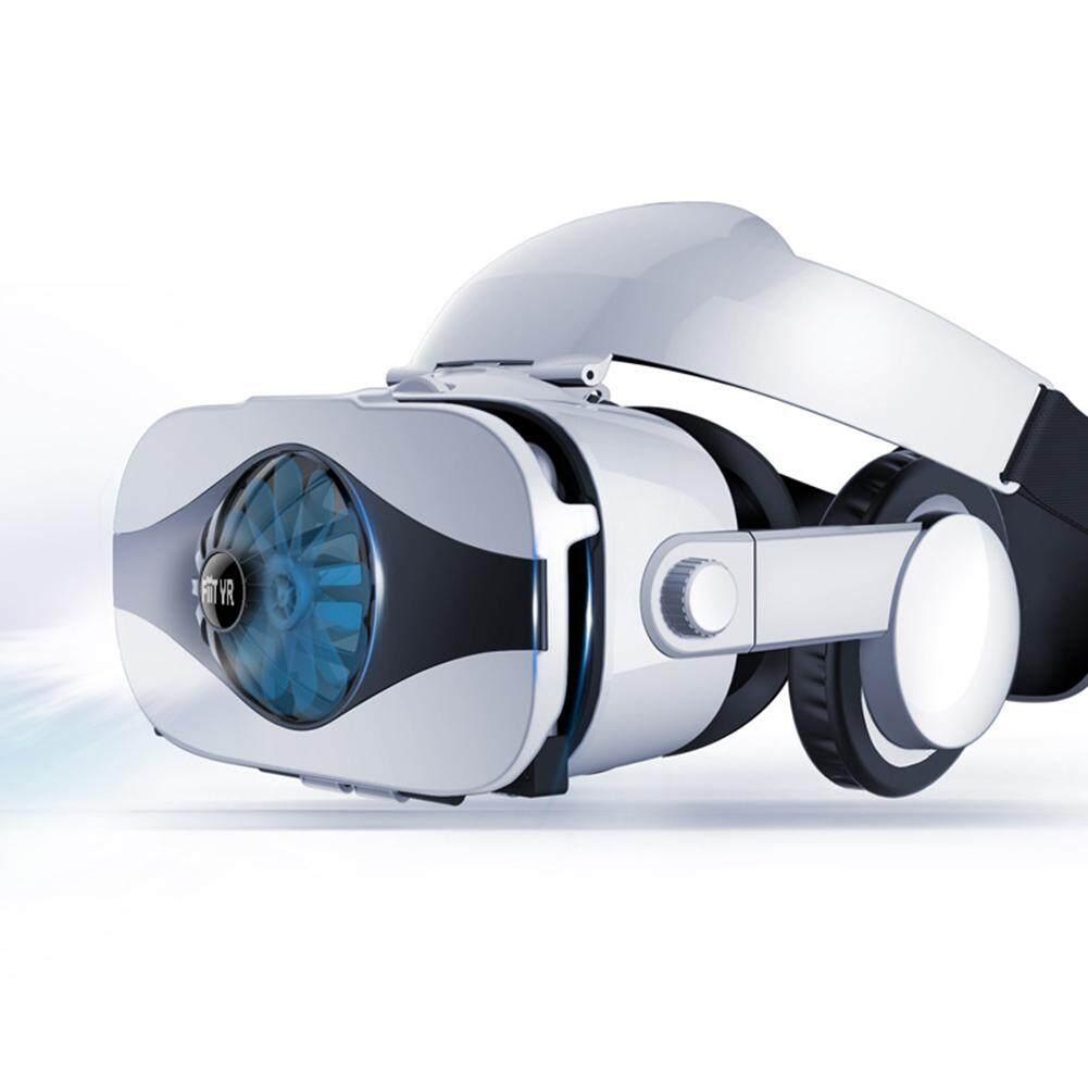 Giá Tản Nhiệt VR Kính Tai Nghe Kính Thực Tế Ảo 3D Trò Chơi Di Động 4D Tích Hợp Gắn Đầu AR Đặc Biệt Mũ Bảo Hiểm quạt