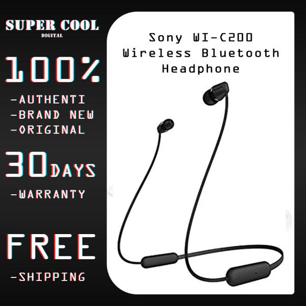 Sony WI-C200 Wireless Bluetooth Headphones (Warranty) Singapore