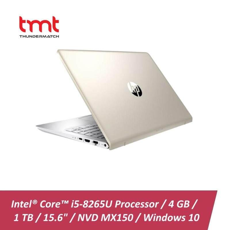HP Pavilion 15-cs1026TX   i5-8265U   4GB   1TB   15.6   NVD MX150 2G   W10 - Gold(5JL25PA) Malaysia