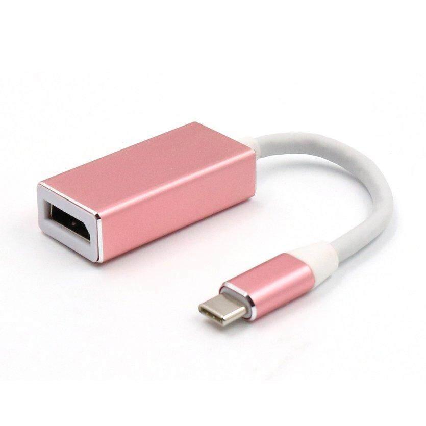 OH 1080 P USB 3.1 Loại C DP Adapter USB-C để Hiển Thị Cổng Adapter Chuyển Đổi