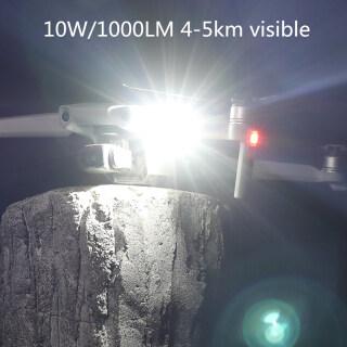 Đèn Chớp Nhấp Nháy Ban Đêm 10W Đèn Bay 1000lm Siêu Sáng Cho DJI Mavic Air 2S Phantom Mavic Mini Phụ Kiện Máy Bay Không Người Lái thumbnail
