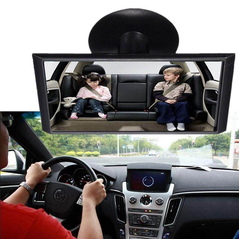 Idealhere 12cm Car Easy View Rear Back Seat Baby Child Safety Mirror Suction Mirror By Idealhere.