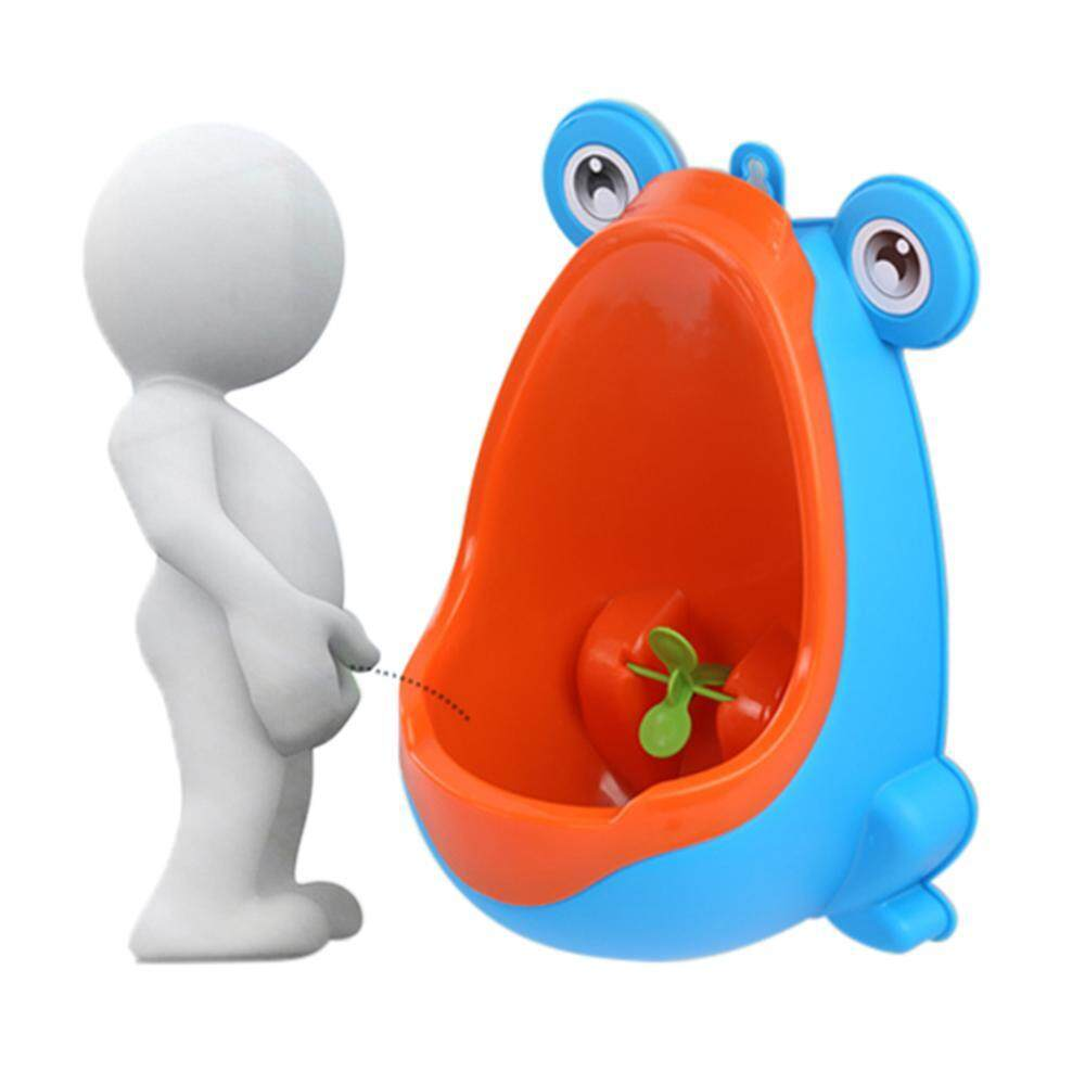Oem Froggy Potty Training Urinal, Toddler Boy Standing Urinal Potty Training Flush Portable Toilet For Little Boys By Onlook.