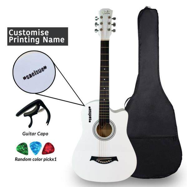 NILI Acoustic Guitar 38 inches Gitar Akustik for Beginner Malaysia