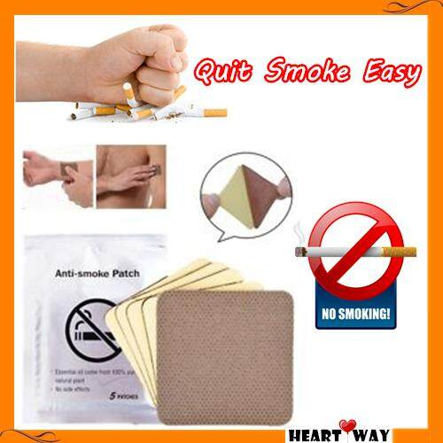 Ready Stock 10pcs Per Bag Stop Quit Smoking Patches Care High Quality