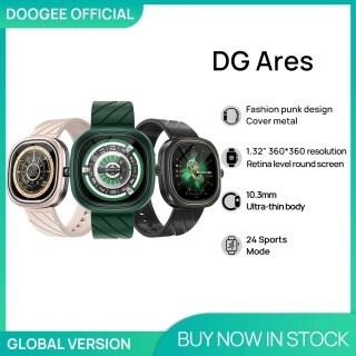DOOGEE DG Ares Đồng Hồ Thiết Kế Punk Thời Trang Đồng Hồ Thông Minh Có Pin 1.32 MAh Màn Hình Tròn Retina 300 Cho Điện Thoại Android IOS thumbnail