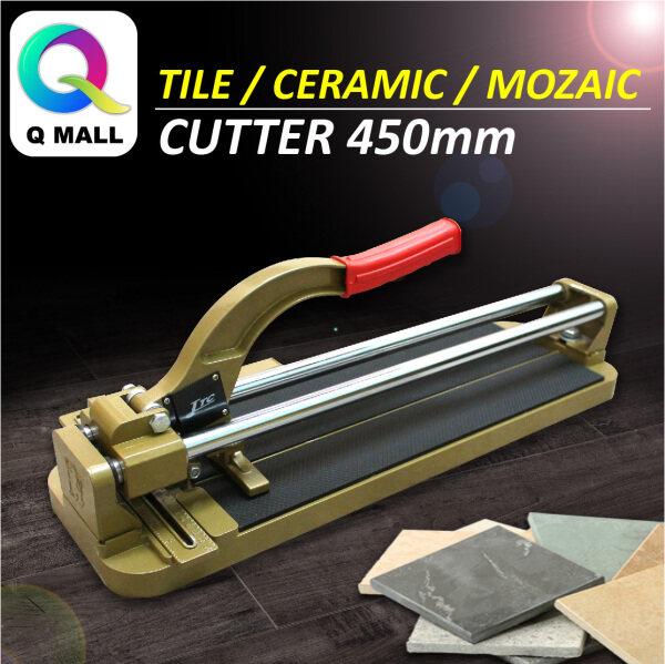 Q MALL JAPAN TILE / MOZAIC CUTTER /POTONG LANTAI JUBIN CUTTING MACHINE 450MM
