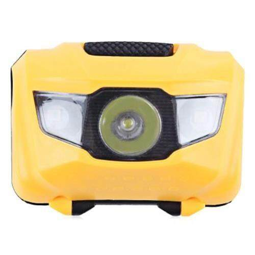 3-LED BICYCLE LIGHT WATER RESISTANT TORCH WITH MOUNT FLASH (YELLOW)