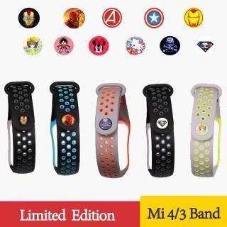 Sport Mi Band 3 4 Dây Đeo Cổ Tay Vòng Đeo Tay Thể Thao Silicon Cho Xiaomi Mi Band 3 Dành Cho Vòng Đeo Tay Đồng Hồ Thông Minh Mi Band 4 3 Band3 thumbnail