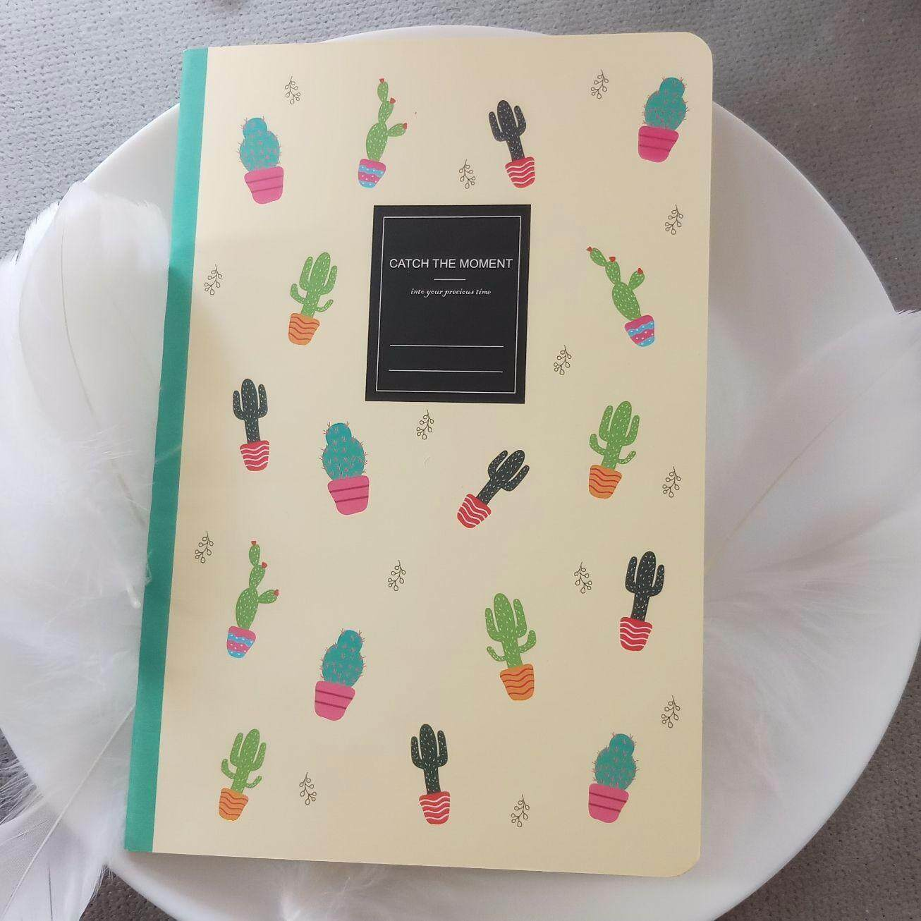 1pc Cactus Succulents A5 Notebook (random Color) (n001) By Serene Craft And Stationeries.