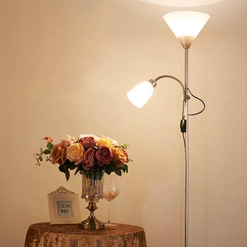Modern Minimalist Eye Protection Elegant Floor Lamp Light Bulb for Living Room Bedroom Study Room