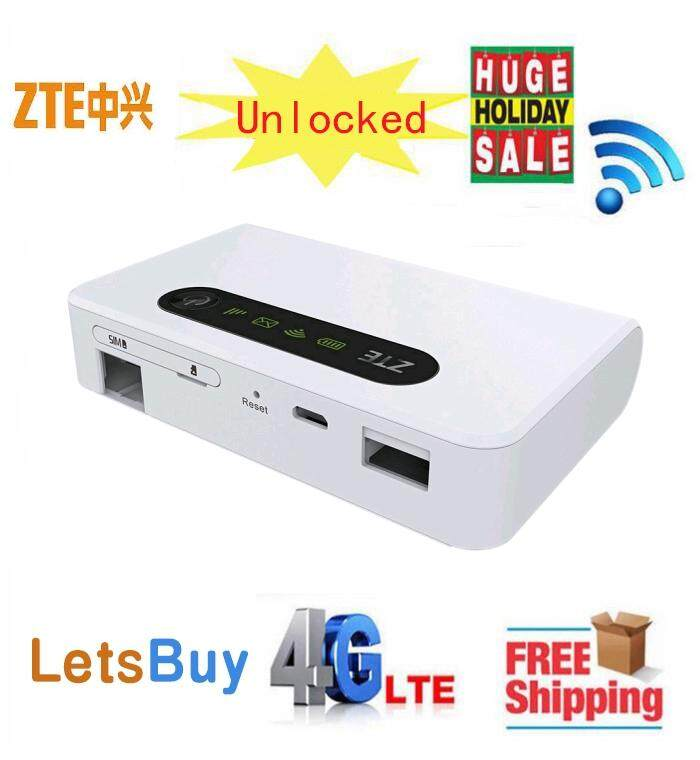 Unlocked ZTE MF903 4G LTE Pocket WiFi Router 5200mah with lan port LTE FDD  Band 1 2 3,5,8 ,TDD Band 38/39/40/41