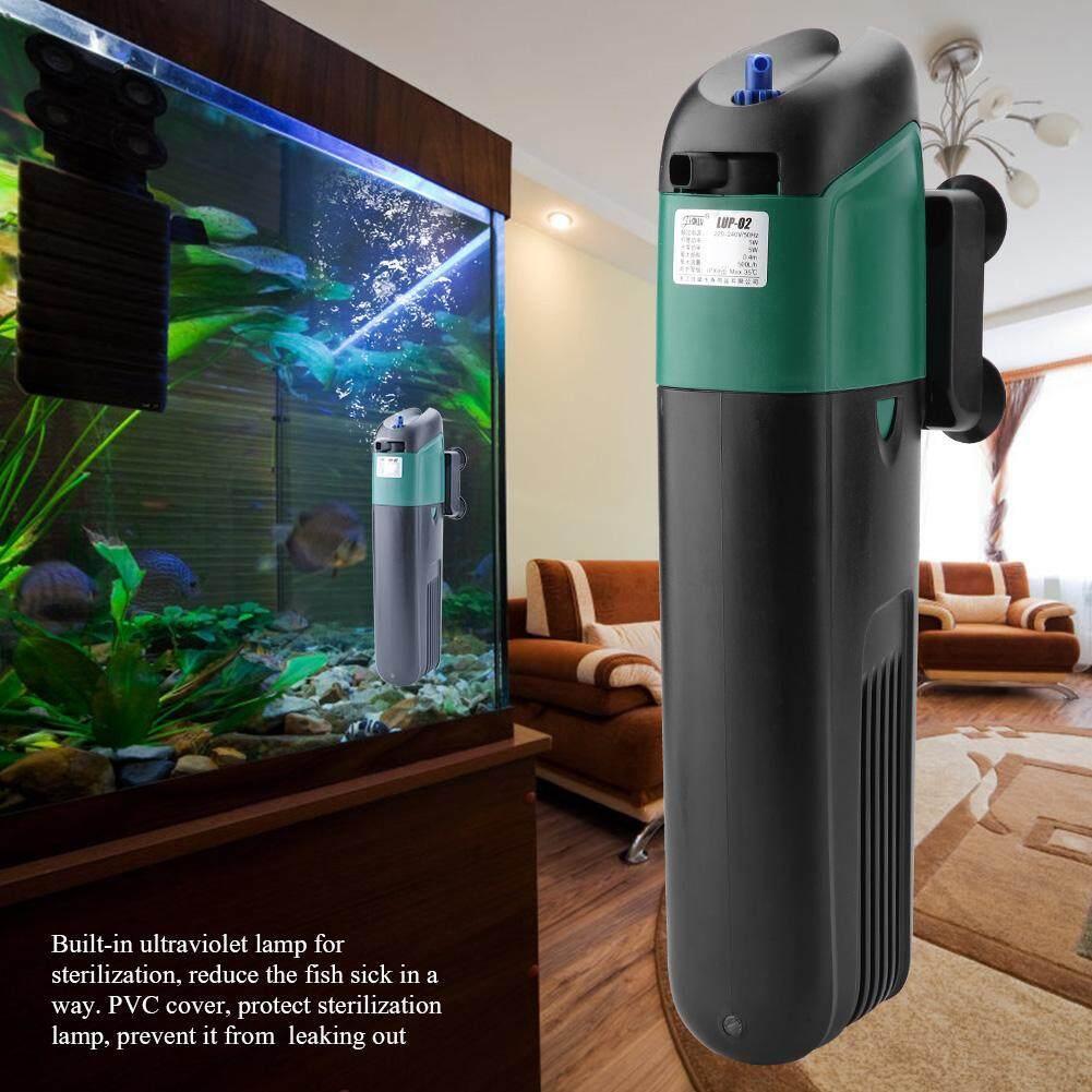 Rp 280.000. Deetee Filter Akuarium Lampu Sterilisasi UV Pompa Oksigen Tangki Ikan Pemurnian Air 220-240 VIDR280000