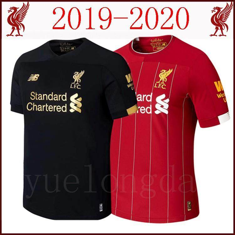 1d3828f46 Top Quality 2019 20 Liverpool Home and Goalkeeper Football Jersey Football  shirt European Code Size