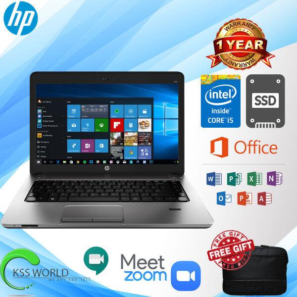 HP PROBOOK 440 G1 CORE i5-4TH GEN 4GB RAM 500GB HDD / 120 GB SSD 14 INCH INCLUDE FREE BAG Malaysia