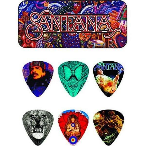 Jim Dunlop Santana Medium Pick & Case Set SANTANA Medium Pick Tin Malaysia