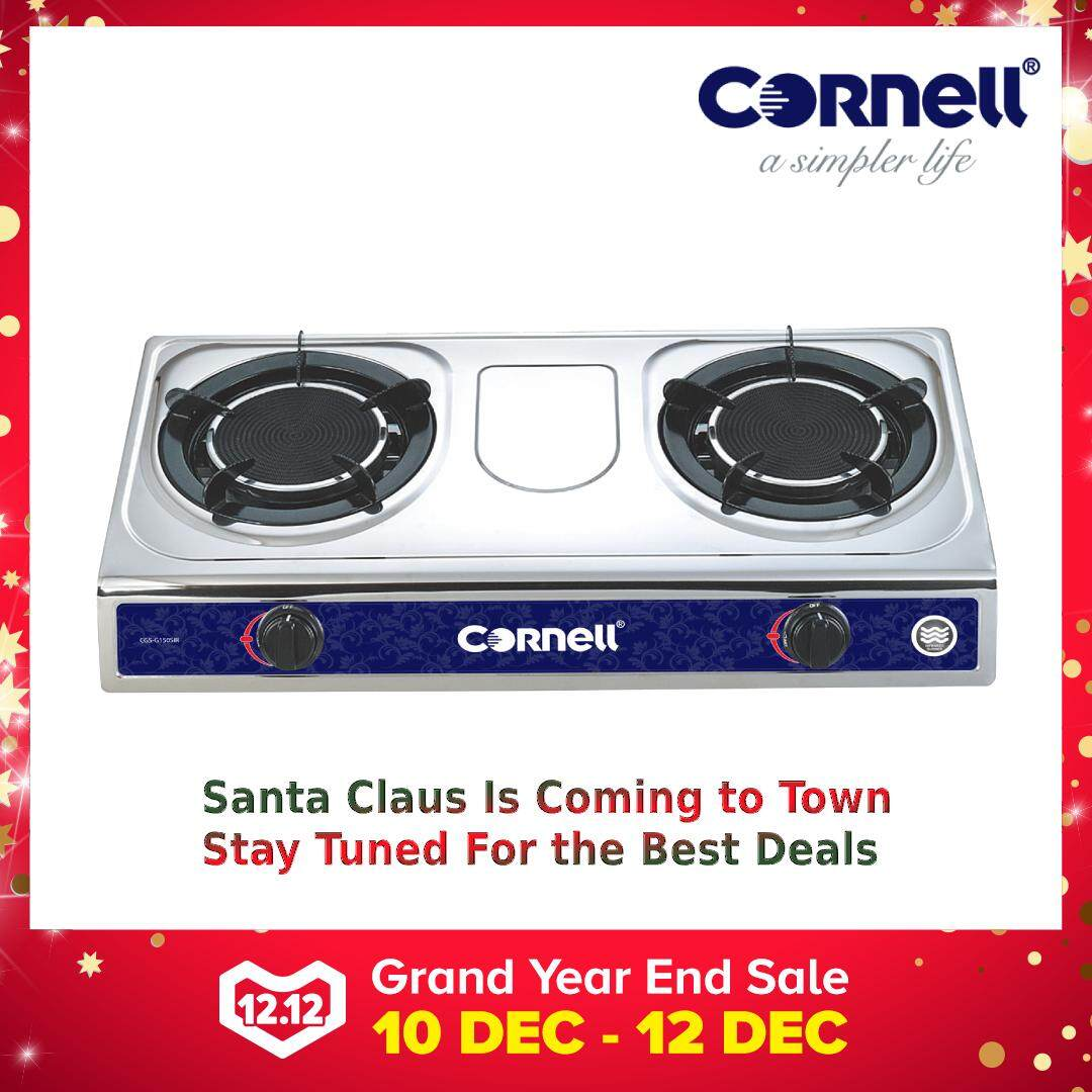 Cornell Cgs G150sir Infrared Gas Stove Smokeless And Flameless