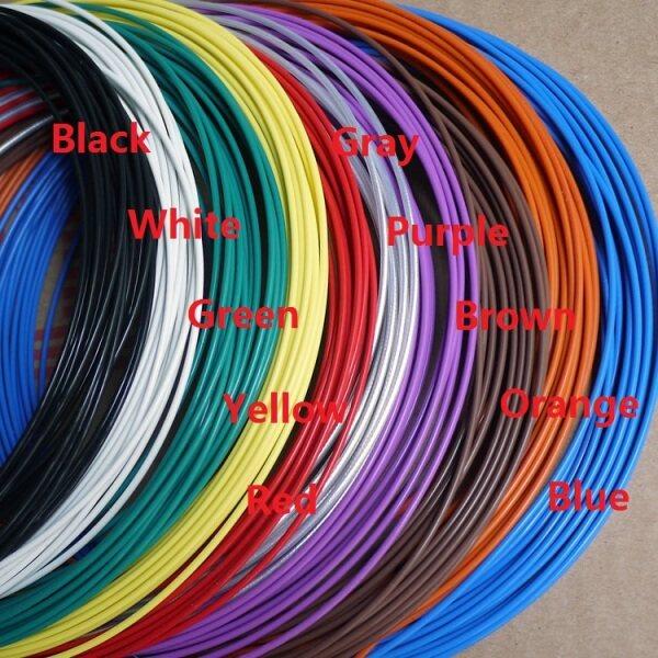 28AWG UL2464 Dây Tín Hiệu 2 3 4 5 6 7 8 9 10 Lõi PVC Cách Điện Vỏ Bọc Điều Khiển Công Suất Khuếch Đại Dòng Âm Thanh Đèn Điện Cable-10Meter
