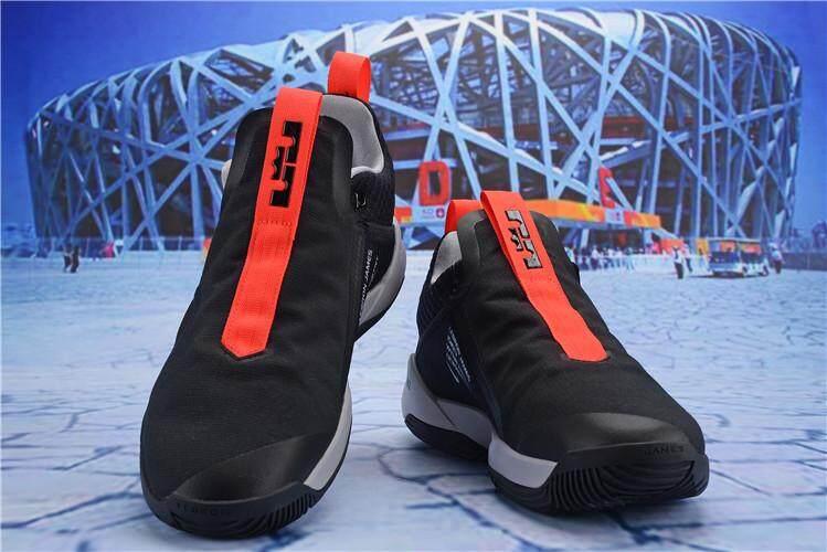 Nike Asli LeBron James Duta Besar Xi Low Top LBJ Diskon Pria Basketaball  Sepatu EU 40 f05662bbea