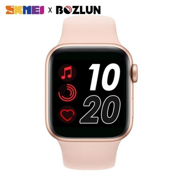 SKMEI BOZLUN Women Smart Watch Bluetooth Call Heart Rate Monitor Blood Pressure Waterproof Watch For Men Man Women Apple IOS Android T500 Malaysia