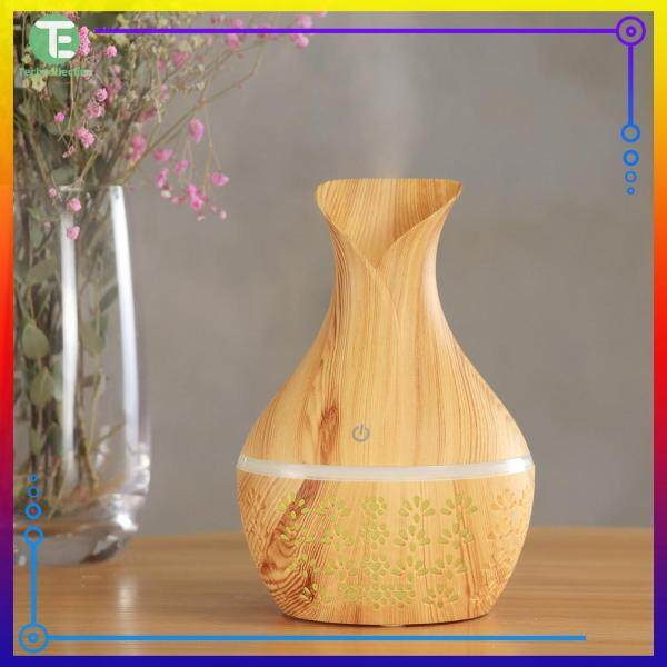 【Techcollection】300ml Aromatherapy Humidifier Multi-functional Essential Oil Aroma Diffuser Machine Air Dampener Singapore