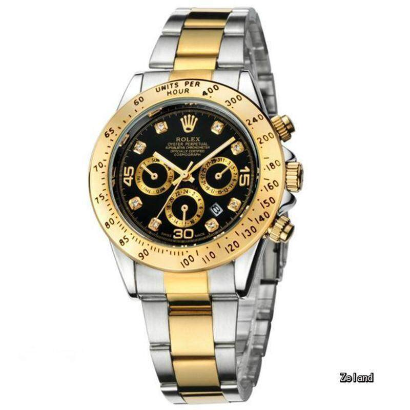Rolex_Watch 40mm Fashion Business Men Wristwatch Waterproof Stainless Steel Date Automatic Mechanical Watches Watch For Men Malaysia