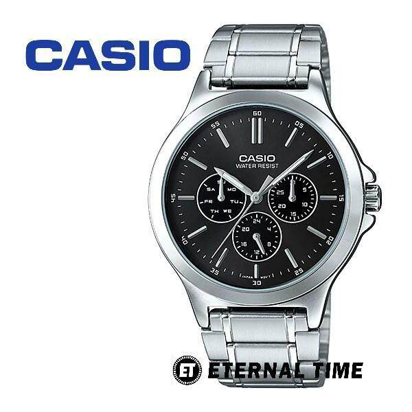 (2 YEARS WARRANTY) CASIO ORIGINAL MTP-V300D-1A MULTI-HANDS MENS WATCH (MTP-V300D) (WATCH FOR MAN / JAM TANGAN LELAKI / MAN WATCH / WATCH FOR MEN / CASIO WATCH FOR MEN / CASIO WATCH) Malaysia
