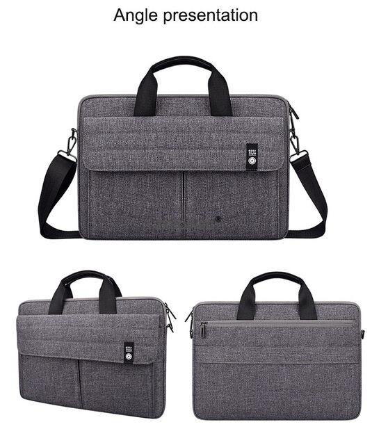 For Acer Aspire R 11 13 S13 V13 Chromebook 14 Switch Spin 3 5 7 11 12 13 14 15 15.6 Inch Laptop Bag Case Notebook Shoulder Bags.