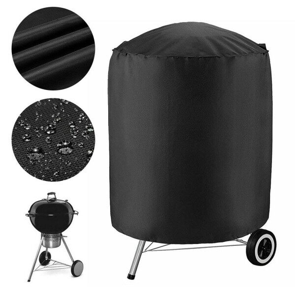 Patio BBQ Grill Cover Polyester Smoker Storage UV 71 X 68 Cm Barbeque Garden
