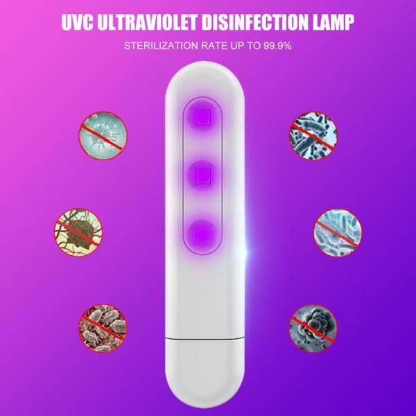 Hldb [Hàng Sẵn Có] Tia Cực Tím Diệt Khuẩn Ánh Sáng Tay Cầm Xách Tay Có Thể Sạc Qua USB UVC Đèn Khử Trùng
