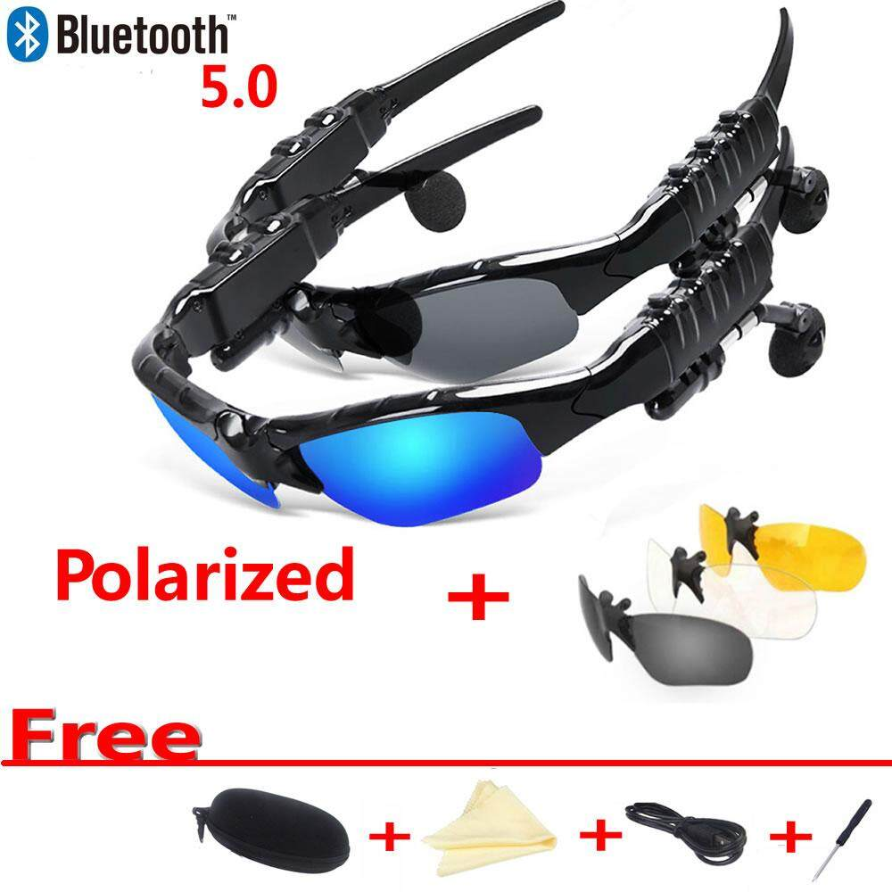 Giá Bluetooth Headset Sunglasses Outdoor Smart Glasses Sport Wireless Headset Microphone for Smart Phones