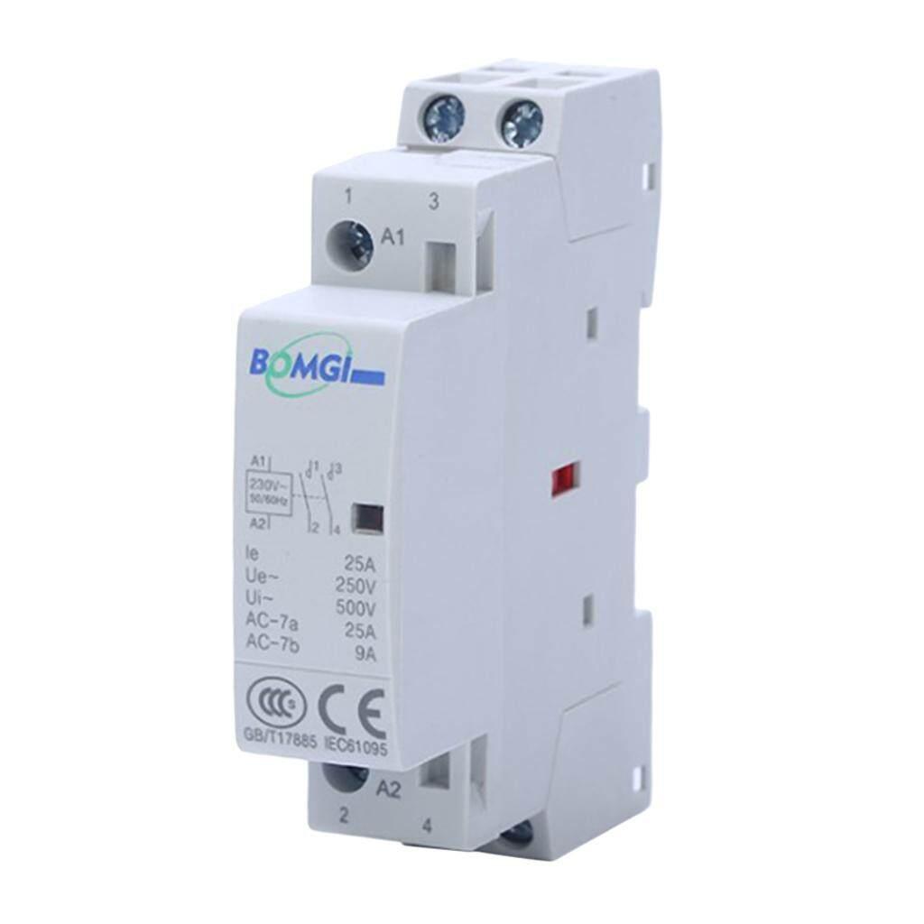 Miracle Shining Household AC Modular Contactor BCH8-25A 2P 25A 2NO 50/60Hz 230V