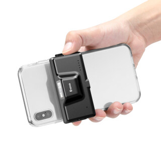Máy Quét Mã Vạch Bluetooth 2D Eyoyo, Không Dây, Máy Quét Mã Vạch Điện Thoại Kẹp Sau Có Thể Điều Chỉnh Dành Cho Mã 1D CMOS QR PDF417, Hoạt Động Với iPhone, Android, IOS Cho Thư Viện Hàng Tồn Kho thumbnail