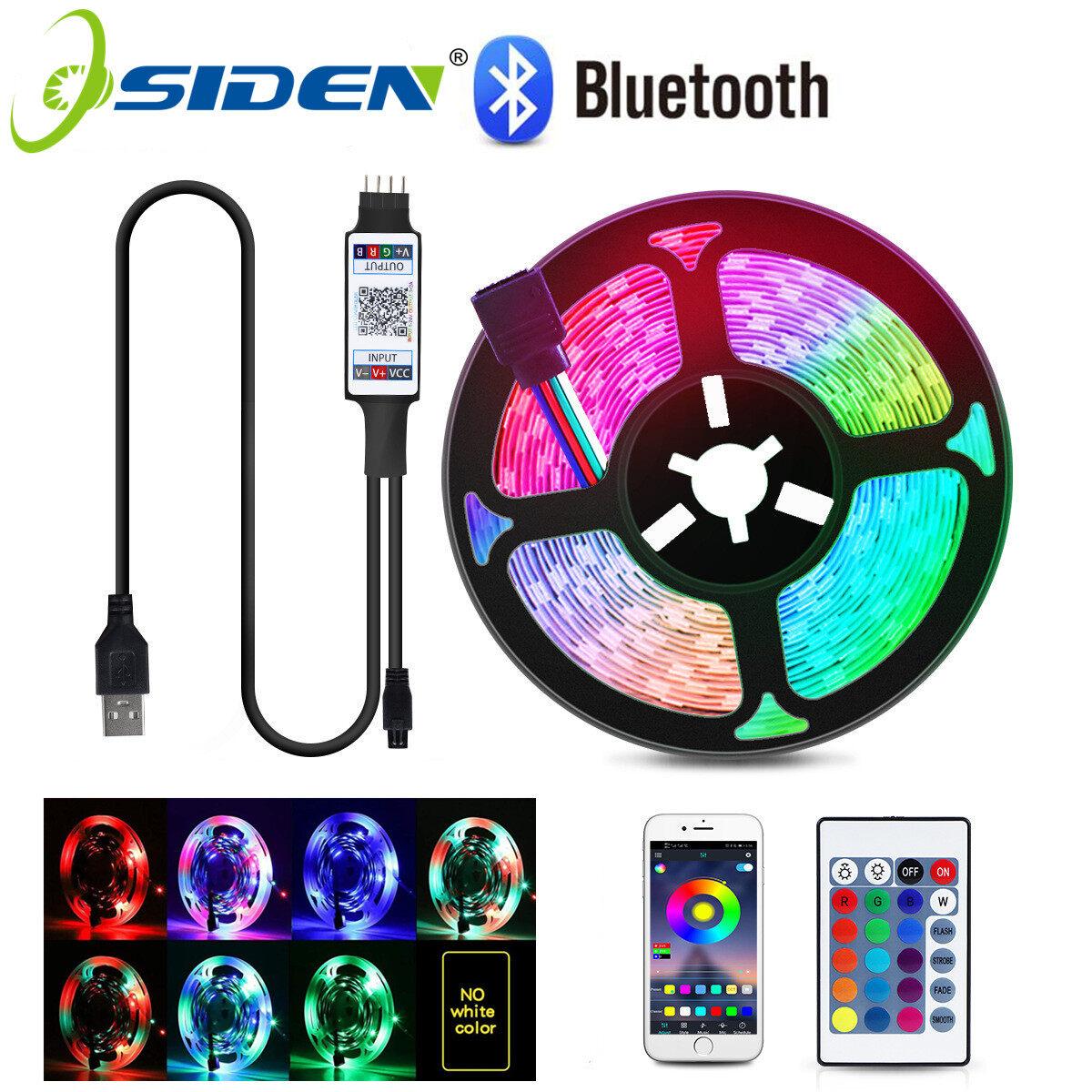 Dây Đèn LED Bluetooth Ruy Băng Linh Hoạt 1M 2M 3M 4M 5M RGB 2835 SMD Luces Băng Dính Nền TV USB Đi-ốt Đèn Ngủ LED Giáng Sinh, Cho Phòng DC5V