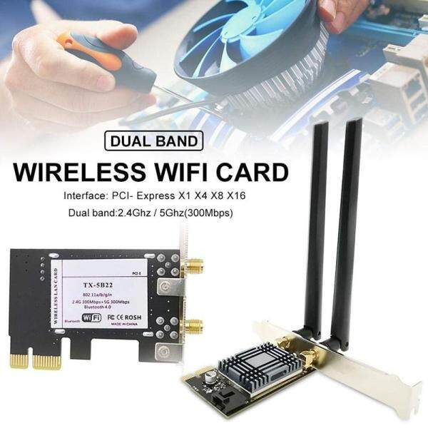 Bảng giá N1202 AR5B22 2.4G/5G Dual Band PCIE Wi-Fi Network Card with Bluetooth 4.0 for Desktop PCsand Servers Wireless Network Adapter Phong Vũ