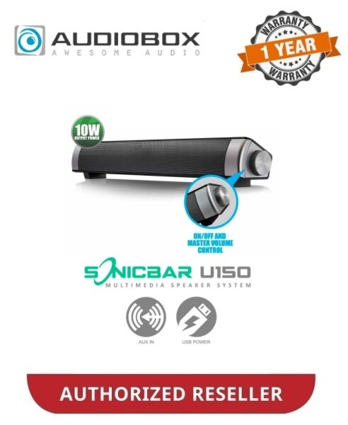 AUDIOBOX SonicBar U150 USB Mini Soundbar Speaker Malaysia