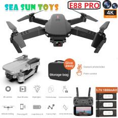 SEA & SUN E88 Pro2 RC Mini UAV 4K 1080P 720P Máy Bay Trực Thăng Chụp Ảnh Trên Không WIFI FPV, Có Thể Gập Lại UAV Đồ Chơi(Có một loại pin riêng được bán trong các tùy chọn)