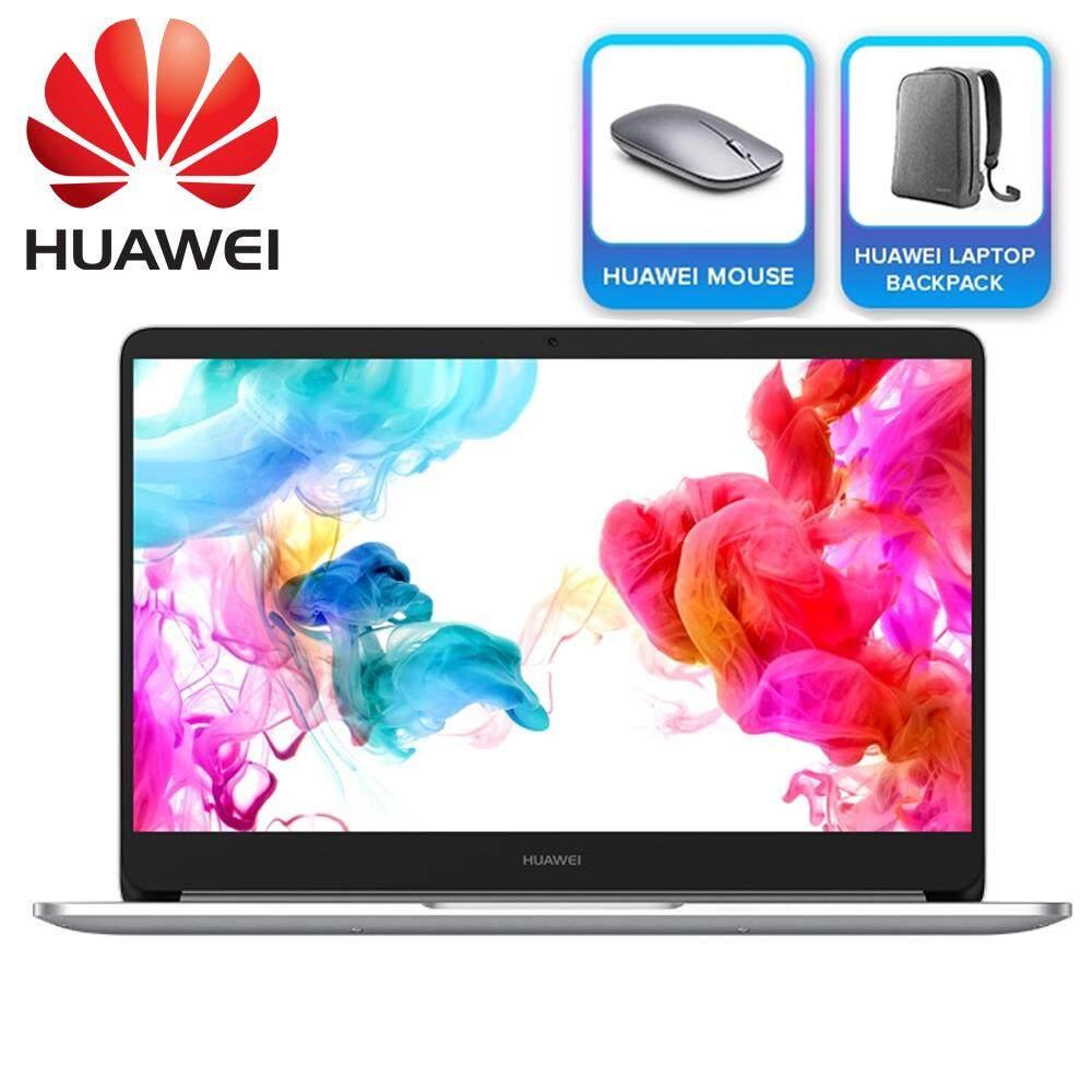Huawei MateBook D 14 FHD IPS Laptop Silver ( i5-8250U, 8GB, 256GB, Intel, W10 ) Malaysia
