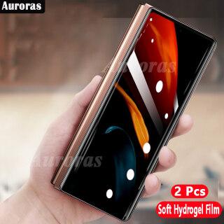 ( 2 Cái Miếng Dán Hydrogel Mềm Cho Samsung Galaxy ZFold 2 Bảo Vệ Toàn Màn Hình Bao Bảo Vệ Toàn Bộ Cho Samsung Z Gấp 2 thumbnail