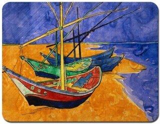 Miếng Lót Chuột Tùy Chỉnh Hình Thuyền Buồm Hàng Hải Miếng Lót Chuột Cao Su Chống Trượt Thiết Kế Cá Tính thumbnail
