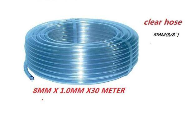 PVC Clear Hose For Household / Industry~6mm(1/4inch) OR 8mm(5/16 INCH) x 1.25mm x 30meter