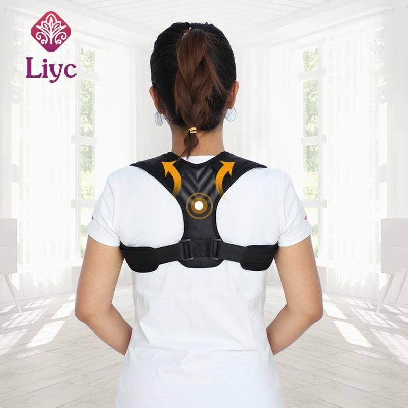 Liyc New Spine Posture Corrector Protection Back Shoulder Posture Correction Band Humpback Back Pain Relief Corrector Brace