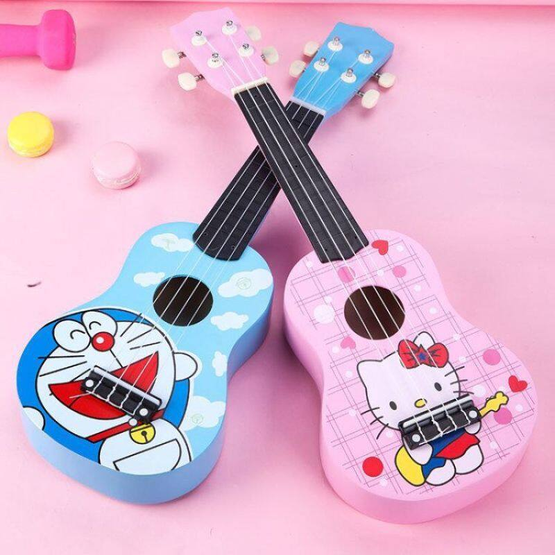 guitar Wooden childrens toy ukulele beginner little guitar musical instrument music toy gift for Malaysia