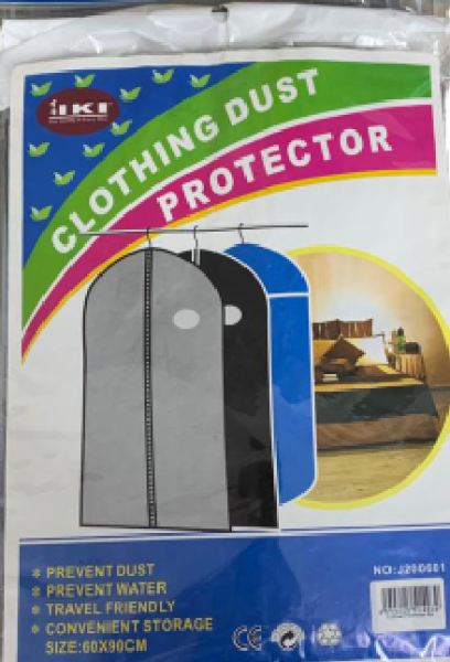 Clothing dust protector (3 in 1)