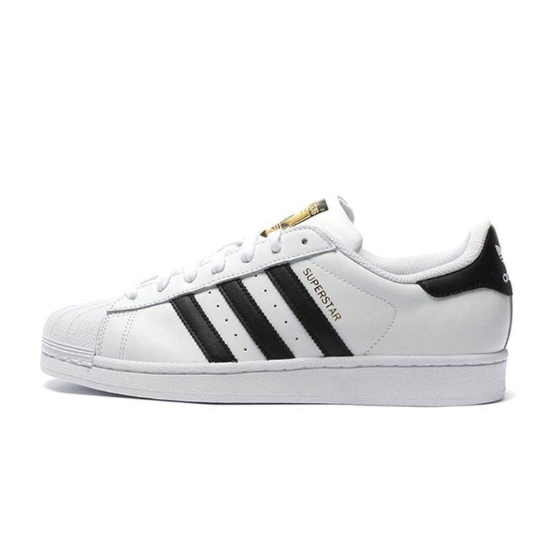 Adidas Official SUPERSTAR Clover Women s And Men s Skateboarding Shoes  Sport Outdoor Sneakers Low Top Designer Good 09cf5a04f8