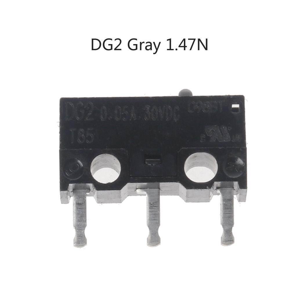 1PC Original CHERRY Mouse Micro Switch DG2 T85 0 05A 30VDC DG4 T85 1A  125VAC 1A30VDC DG2 DG4 Gray 1 47N Black 0 74N Point
