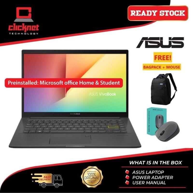 ASUS 14 M413I-AEK056TS (Ryzen5 4500U, 4GB, 512GB SSD, 14 FHD, W10, OPI HS ) Malaysia